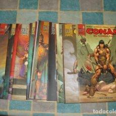 Livros de Banda Desenhada: CONAN EL CIMMERIO, 2009, COMPLETA, 17 NÚMEROS, PLANETA DEAGOSTINI, MUY BUEN ESTADO. Lote 223070681