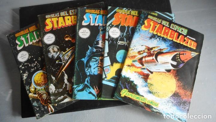 LOTE DE 5 STARBLAZER (Tebeos y Comics - Tebeos Pequeños Lotes de Conjunto)