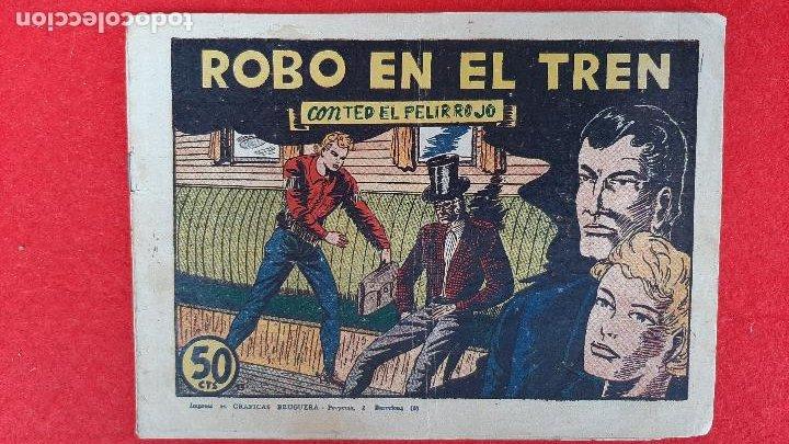 Tebeos: LOTE DE 23 NUMEROS DE TED EL PELIRROJO BRUGUERA VER FOTOS , ORIGINALES - Foto 2 - 224338778