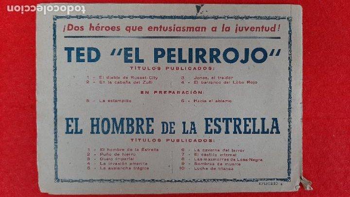 Tebeos: LOTE DE 23 NUMEROS DE TED EL PELIRROJO BRUGUERA VER FOTOS , ORIGINALES - Foto 5 - 224338778