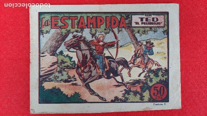 Tebeos: LOTE DE 23 NUMEROS DE TED EL PELIRROJO BRUGUERA VER FOTOS , ORIGINALES - Foto 6 - 224338778