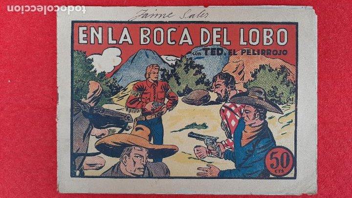 Tebeos: LOTE DE 23 NUMEROS DE TED EL PELIRROJO BRUGUERA VER FOTOS , ORIGINALES - Foto 8 - 224338778