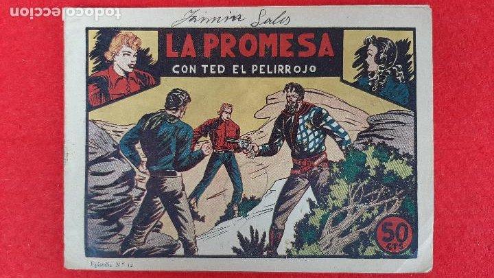 Tebeos: LOTE DE 23 NUMEROS DE TED EL PELIRROJO BRUGUERA VER FOTOS , ORIGINALES - Foto 16 - 224338778
