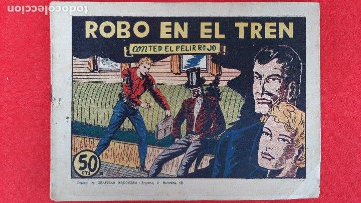 Tebeos: LOTE DE 23 NUMEROS DE TED EL PELIRROJO BRUGUERA VER FOTOS , ORIGINALES - Foto 18 - 224338778