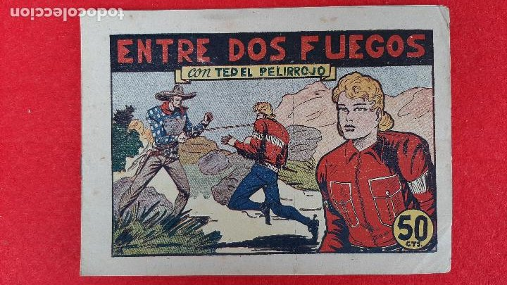 Tebeos: LOTE DE 23 NUMEROS DE TED EL PELIRROJO BRUGUERA VER FOTOS , ORIGINALES - Foto 20 - 224338778