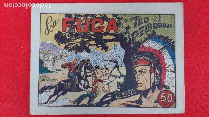 Tebeos: LOTE DE 23 NUMEROS DE TED EL PELIRROJO BRUGUERA VER FOTOS , ORIGINALES - Foto 28 - 224338778