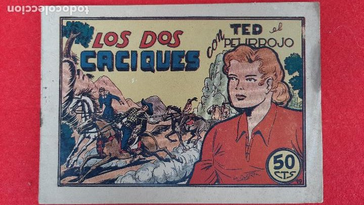 Tebeos: LOTE DE 23 NUMEROS DE TED EL PELIRROJO BRUGUERA VER FOTOS , ORIGINALES - Foto 30 - 224338778