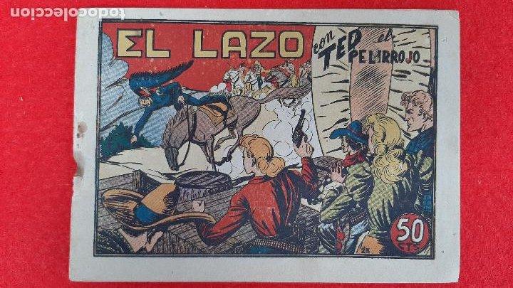Tebeos: LOTE DE 23 NUMEROS DE TED EL PELIRROJO BRUGUERA VER FOTOS , ORIGINALES - Foto 36 - 224338778