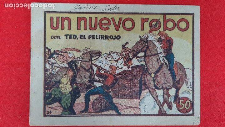 Tebeos: LOTE DE 23 NUMEROS DE TED EL PELIRROJO BRUGUERA VER FOTOS , ORIGINALES - Foto 38 - 224338778