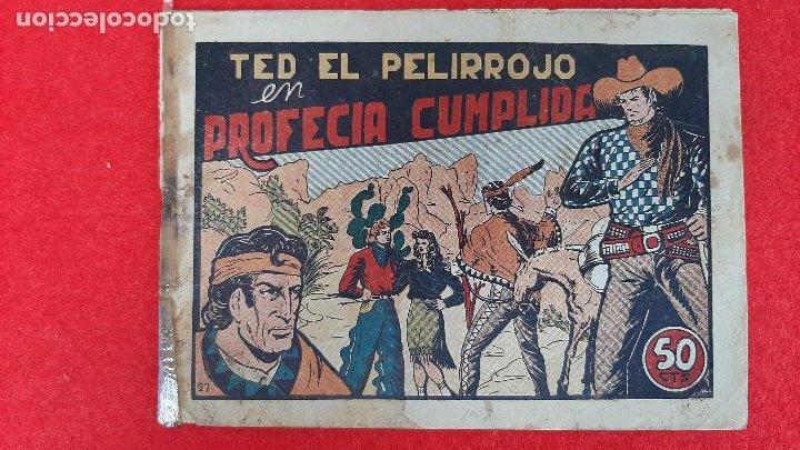 Tebeos: LOTE DE 23 NUMEROS DE TED EL PELIRROJO BRUGUERA VER FOTOS , ORIGINALES - Foto 44 - 224338778