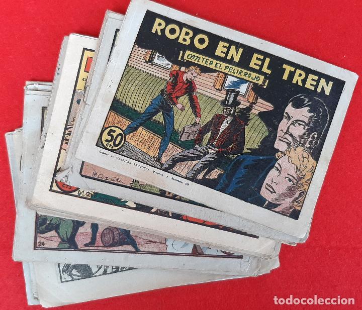 LOTE DE 23 NUMEROS DE TED EL PELIRROJO BRUGUERA VER FOTOS , ORIGINALES (Tebeos y Comics - Tebeos Colecciones y Lotes Avanzados)