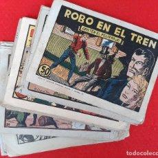 Tebeos: LOTE DE 23 NUMEROS DE TED EL PELIRROJO BRUGUERA VER FOTOS , ORIGINALES. Lote 224338778
