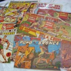 Tebeos: PUÑO DE BRONCE COMPLETA, 12 ORIGINALES + ALMANAQUE 1963-IMPORTANTE LEER Y VER FOTOS. Lote 224390978