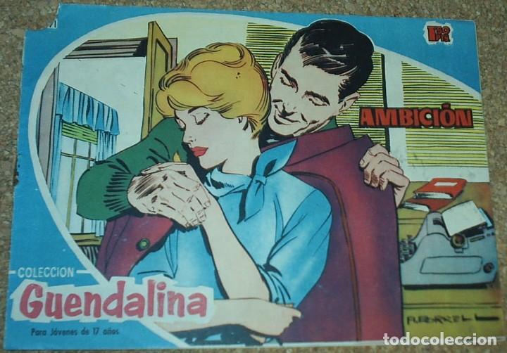 Tebeos: GUANDALINA LOTE DE 5 Nº DIFICILES-TORAY 1959 ORIGINALES BIEN- IMPORTANTE LEER Y VER FOTOS - Foto 3 - 224442658