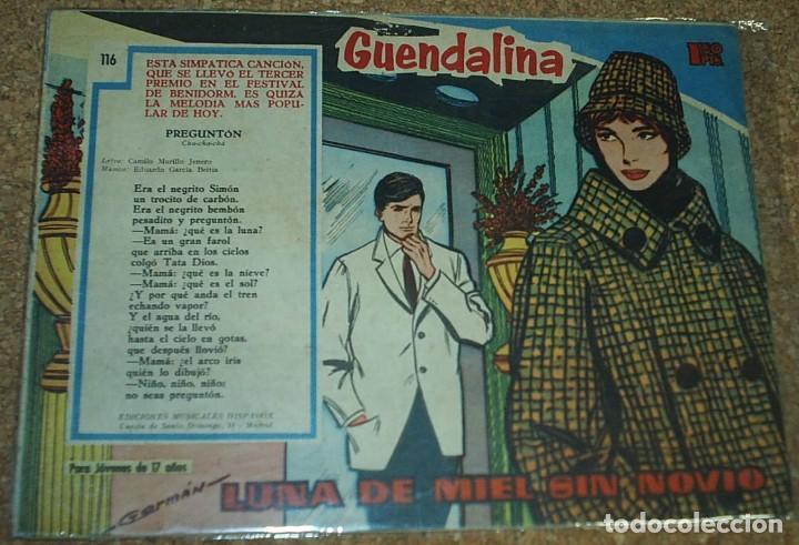 Tebeos: GUANDALINA LOTE DE 5 Nº DIFICILES-TORAY 1959 ORIGINALES BIEN- IMPORTANTE LEER Y VER FOTOS - Foto 4 - 224442658