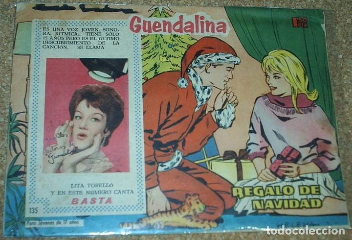 Tebeos: GUANDALINA LOTE DE 5 Nº DIFICILES-TORAY 1959 ORIGINALES BIEN- IMPORTANTE LEER Y VER FOTOS - Foto 5 - 224442658