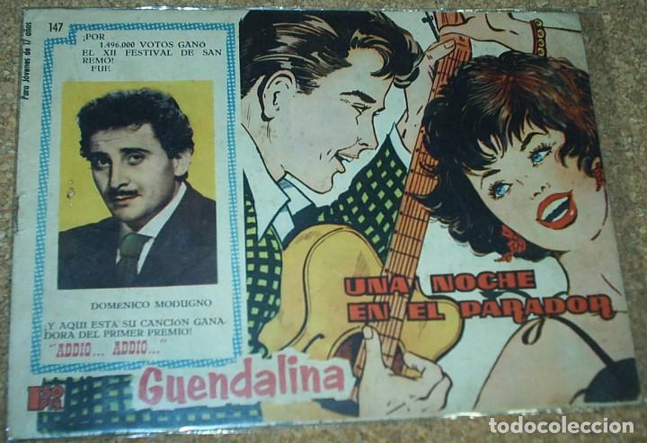 Tebeos: GUANDALINA LOTE DE 5 Nº DIFICILES-TORAY 1959 ORIGINALES BIEN- IMPORTANTE LEER Y VER FOTOS - Foto 6 - 224442658