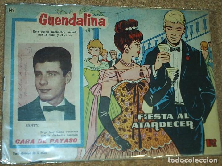 Tebeos: GUANDALINA LOTE DE 5 Nº DIFICILES-TORAY 1959 ORIGINALES BIEN- IMPORTANTE LEER Y VER FOTOS - Foto 7 - 224442658