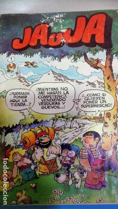JAUJA. Nº 2. EDICIONES DRUIDA 1982. (C/A22) (Tebeos y Comics - Tebeos Colecciones y Lotes Avanzados)