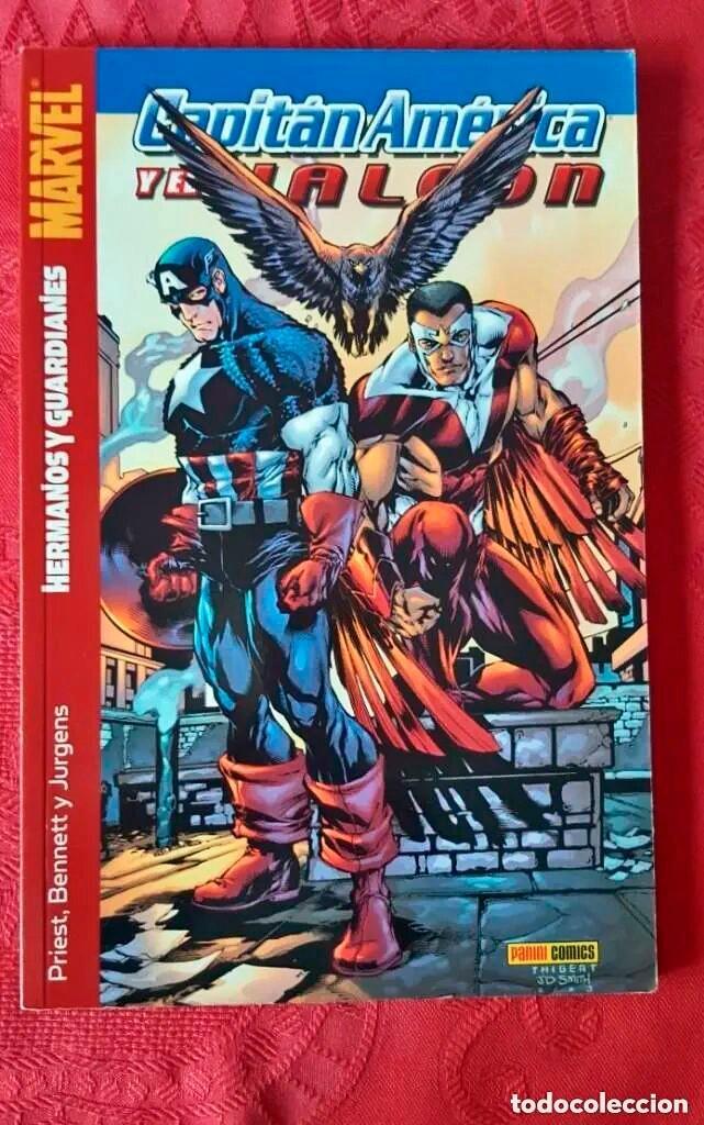 MARVEL - CAPITÁN AMÉRICA Y EL HALCÓN, HERMANOS Y GUARDIANES - TOMO 3 - PANINI (Tebeos y Comics - Tebeos Colecciones y Lotes Avanzados)