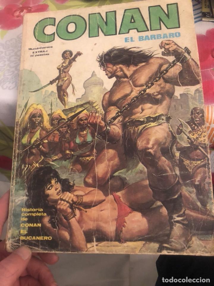 LOTE DE 18 CÓMICS VARIADOS DE CONAN (Tebeos y Comics - Tebeos Pequeños Lotes de Conjunto)