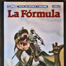 Tebeos: EL MERCENARIO, LA FORMULA - CIMOC PRESENTA Nº 2 (1983). Lote 184902308