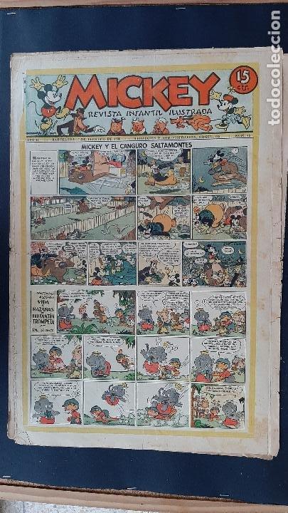 Tebeos: LOTE DE MICKEY COLECCION MOLINO 59 EJEMPLARES ANTIGUOS 1935 1936 ORIGINALES - Foto 45 - 225020363
