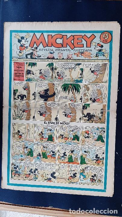 Tebeos: LOTE DE MICKEY COLECCION MOLINO 59 EJEMPLARES ANTIGUOS 1935 1936 ORIGINALES - Foto 49 - 225020363