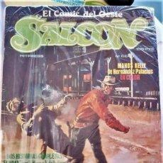 Tebeos: SALOON: EL CÓMIC DEL OESTE, HITPRESS (1981)-COLECCIÓN COMPLETA, 9 NºS (DEL Nº 0 AL Nº 8) -EXCELENTE. Lote 136770818