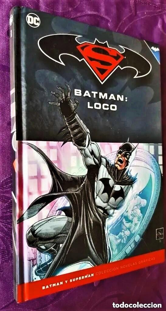 BATMAN: LOCO (TOMO 26) - ECC / SALVAT (Tebeos y Comics - Tebeos Colecciones y Lotes Avanzados)