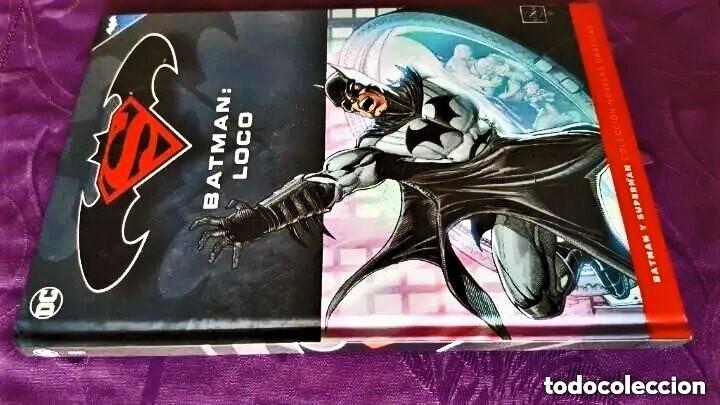 Tebeos: BATMAN: LOCO (TOMO 26) - ECC / SALVAT - Foto 2 - 237989825