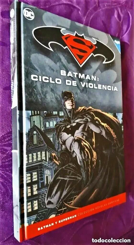 BATMAN: CICLO DE VIOLENCIA (TOMO 24) - ECC / SALVAT (Tebeos y Comics - Tebeos Colecciones y Lotes Avanzados)