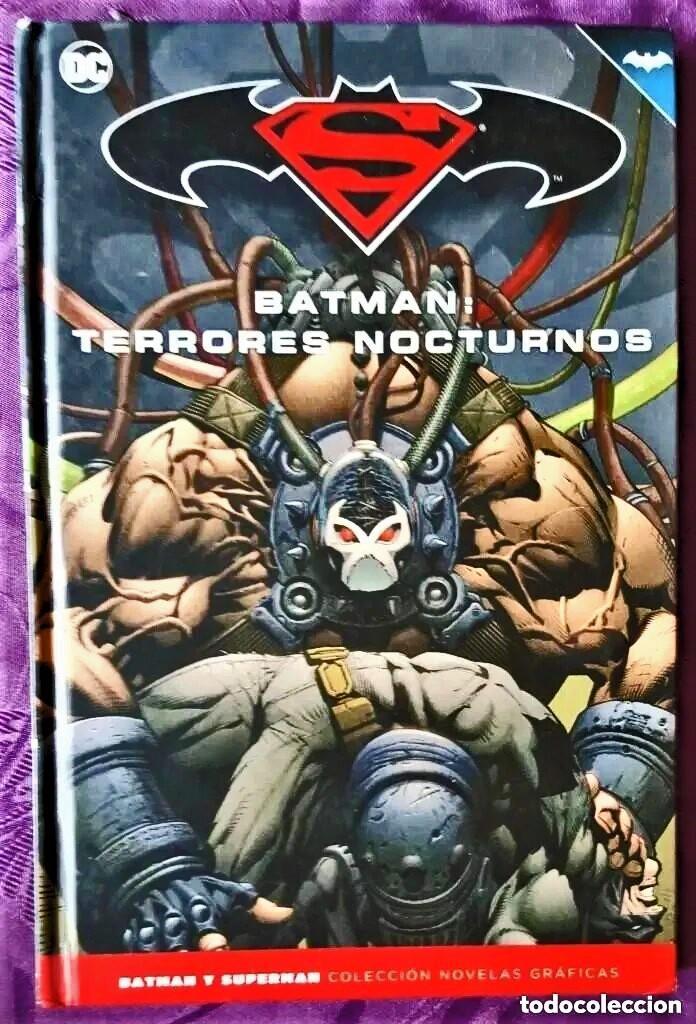 BATMAN: TERRORES NOCTURNOS (TOMO 22) - ECC / SALVAT (Tebeos y Comics - Tebeos Colecciones y Lotes Avanzados)