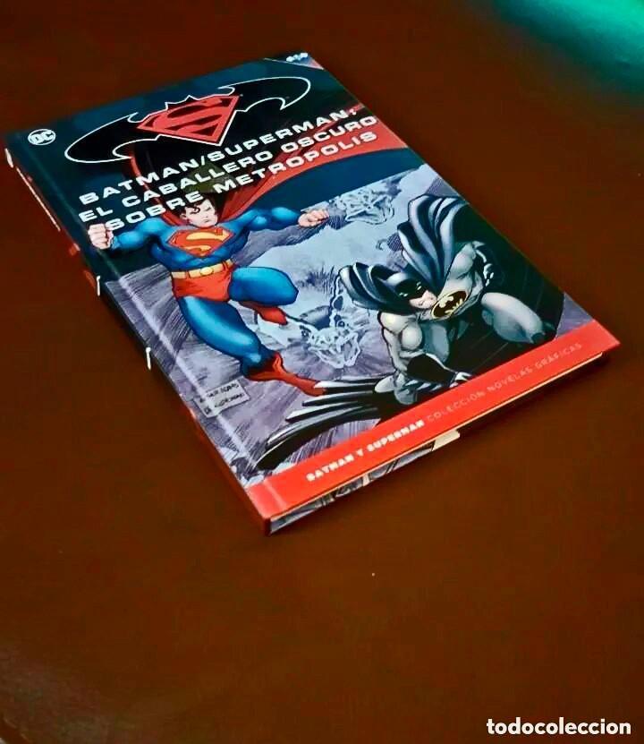 BATMAN / SUPERMAN : EL CABALLERO OSCURO SOBRE METROPOLIS (TOMO 38) - ECC / SALVAT (Tebeos y Comics - Tebeos Colecciones y Lotes Avanzados)