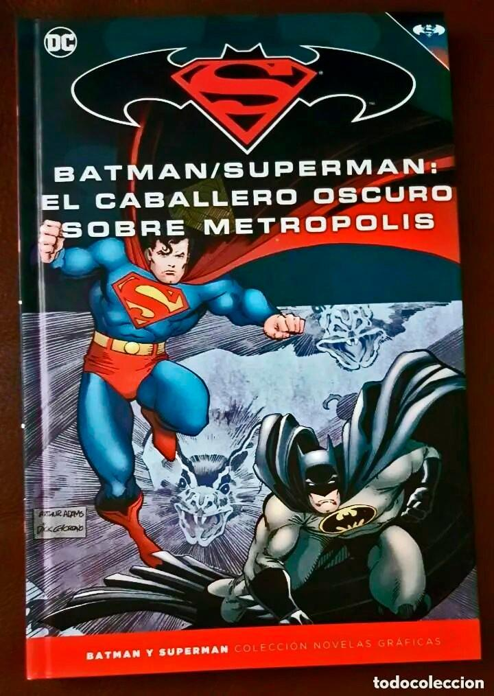 Tebeos: BATMAN / SUPERMAN : EL CABALLERO OSCURO SOBRE METROPOLIS (TOMO 38) - ECC / SALVAT - Foto 2 - 223729582