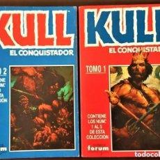 Tebeos: TOMOS 1 Y 2 DE KULL EL CONQUISTADOR, - FORUM. Lote 168624060