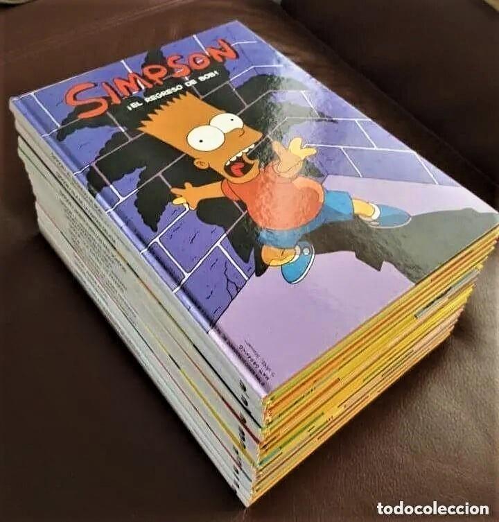LOTE DE 16 TOMOS DE LOS SIMPSON TAPA DURA, - ESTAN NUEVOS- VER FOTOS (Tebeos y Comics - Tebeos Colecciones y Lotes Avanzados)