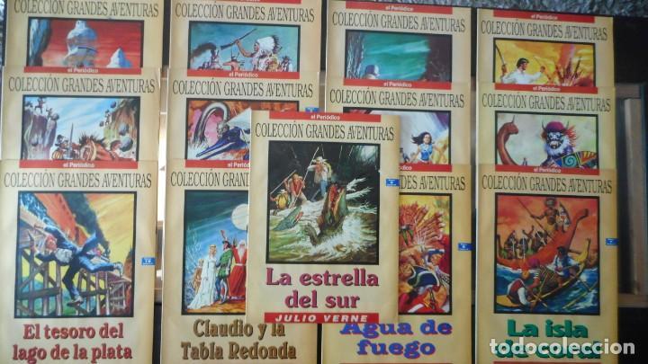 LOTE 13 NÚMEROS GRANDES AVENTURAS (Tebeos y Comics - Tebeos Pequeños Lotes de Conjunto)