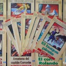 Tebeos: LOTE DE 24 NÚMEROS DE GRANDES AVENTURAS. Lote 225989741