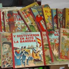 Tebeos: LEYENDAS ESPAÑOLAS-EDICIONES AYAX-COL.COMPLETA ÚNICA-19 Nº LOMO TELA MUY RAR.-LEER Y VER FOTOS. Lote 226034648