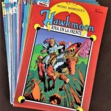 Tebeos: EXCELENTES - HAWKMOON COLECCIÓN COMPLETA DE 16 NºS, - TEBEOS SA,(1988) - VER FOTOS Y DESCRIPCIÓN. Lote 164664597