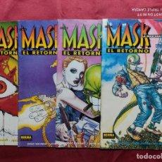 Giornalini: THE MASK. LA MÁSCARA. EL RETORNO. COLECCION COMPLETA. 4 EJEMPLARES. NORMA EDITORIAL. Lote 249448790