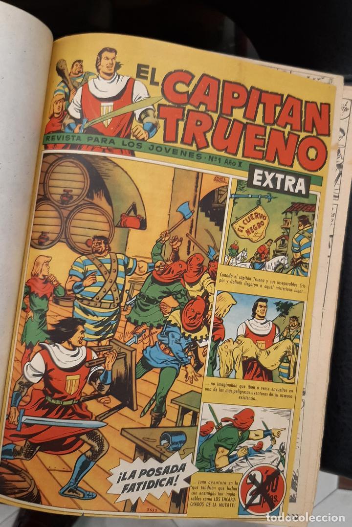 CAPITAN TRUENO EXTRA 5 TOMOS DESDE EL NUMERO 1 AL 253 FALTAN EL 97 Y EL 213 BRUGUERA ORIGINALES (Tebeos y Comics - Tebeos Colecciones y Lotes Avanzados)
