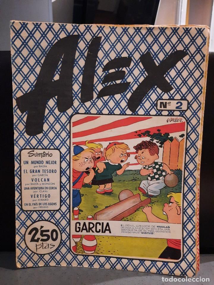 Tebeos: Alex - 10 Ejemplares, Colección Completa - Original - Freixas (Buen Estado) - Foto 3 - 228552365