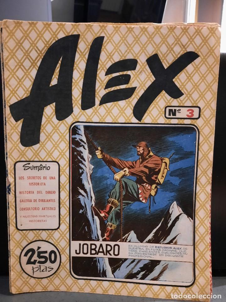 Tebeos: Alex - 10 Ejemplares, Colección Completa - Original - Freixas (Buen Estado) - Foto 5 - 228552365