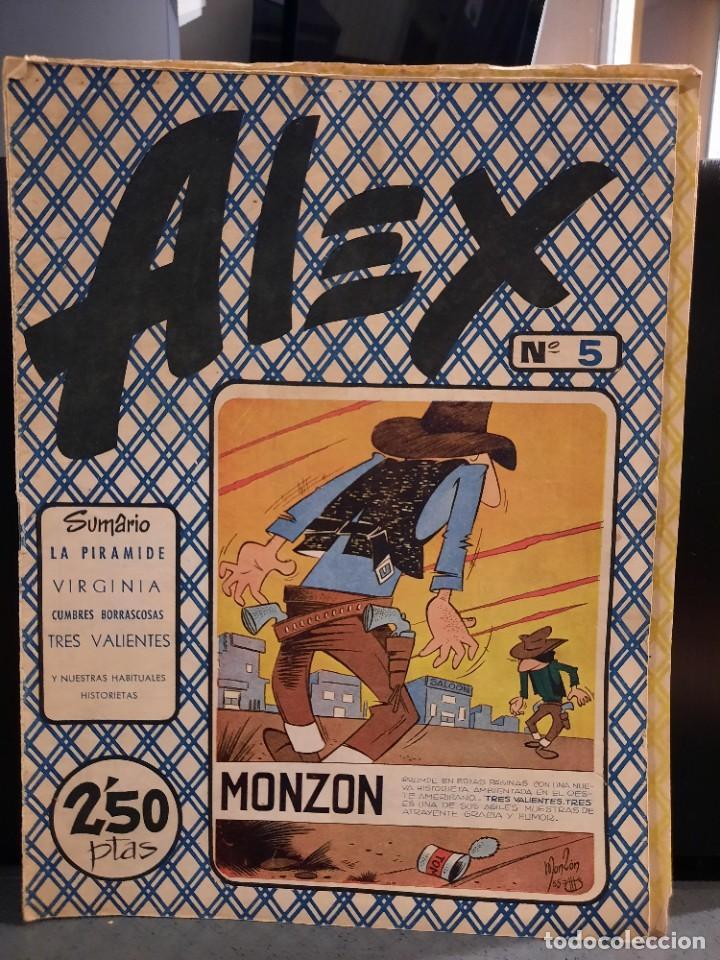 Tebeos: Alex - 10 Ejemplares, Colección Completa - Original - Freixas (Buen Estado) - Foto 9 - 228552365