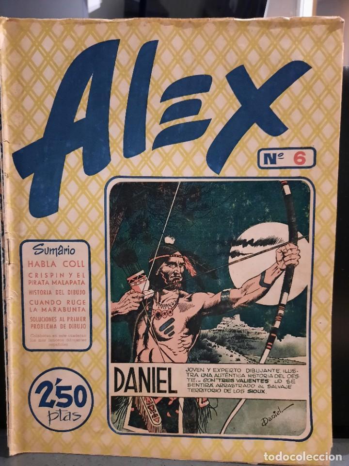 Tebeos: Alex - 10 Ejemplares, Colección Completa - Original - Freixas (Buen Estado) - Foto 11 - 228552365