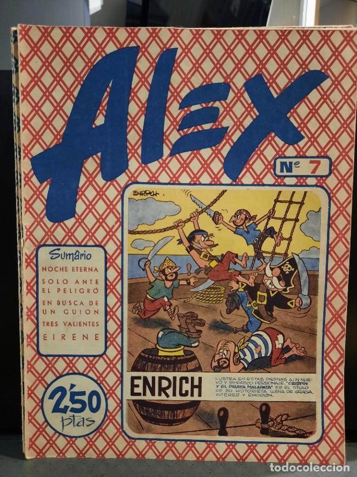 Tebeos: Alex - 10 Ejemplares, Colección Completa - Original - Freixas (Buen Estado) - Foto 13 - 228552365