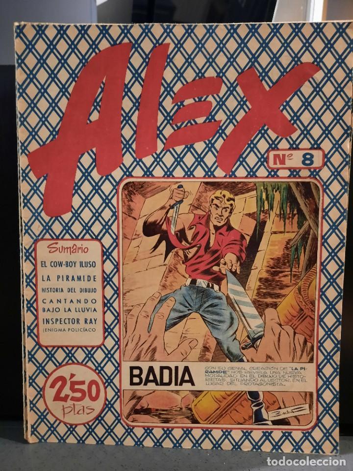 Tebeos: Alex - 10 Ejemplares, Colección Completa - Original - Freixas (Buen Estado) - Foto 15 - 228552365