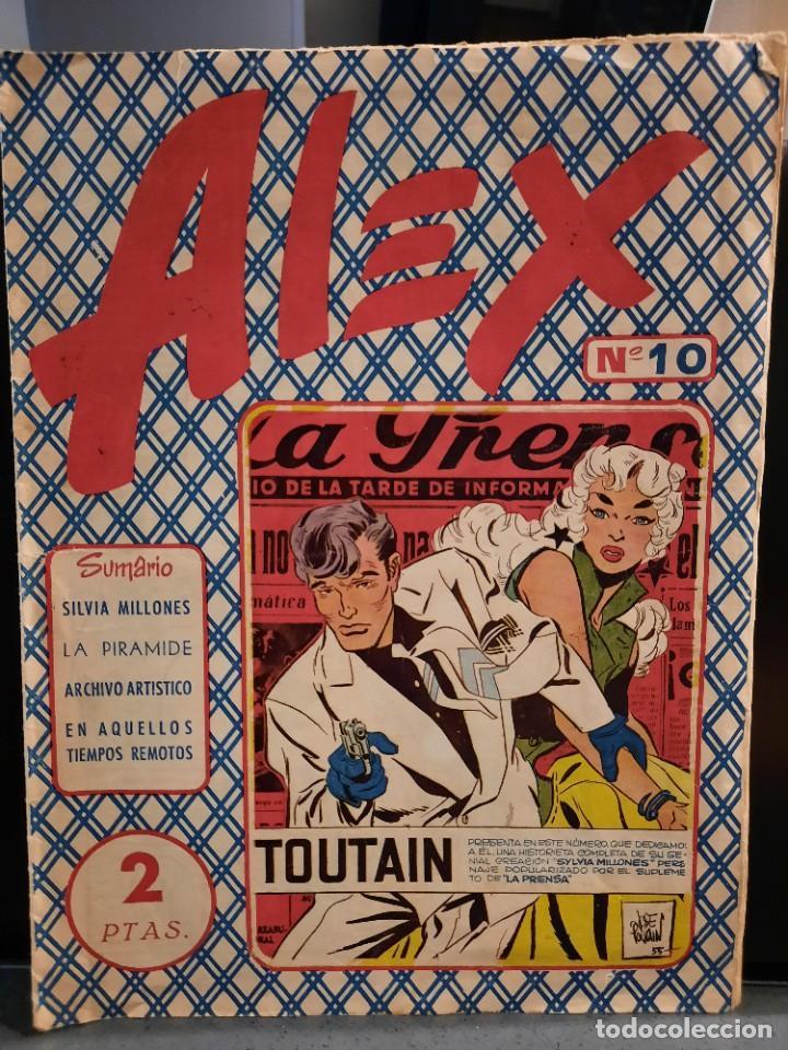 Tebeos: Alex - 10 Ejemplares, Colección Completa - Original - Freixas (Buen Estado) - Foto 19 - 228552365